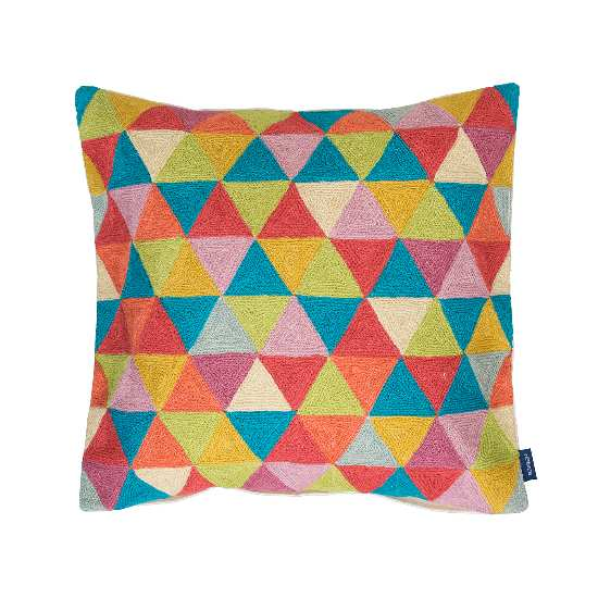 povlak ART WOOL triangles multi
